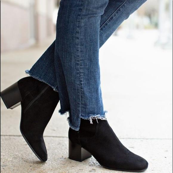 346be842a8901 Aquatalia Shoes - Aquatalia Tibby Black Suede Waterproof Bootie